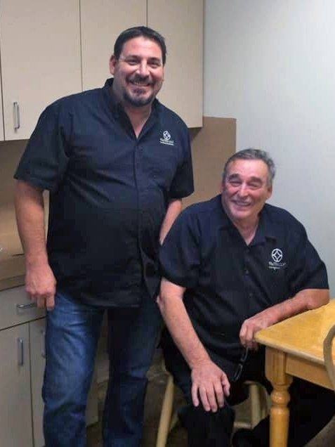 Darrick with Co-Founder David Vaseleniuck